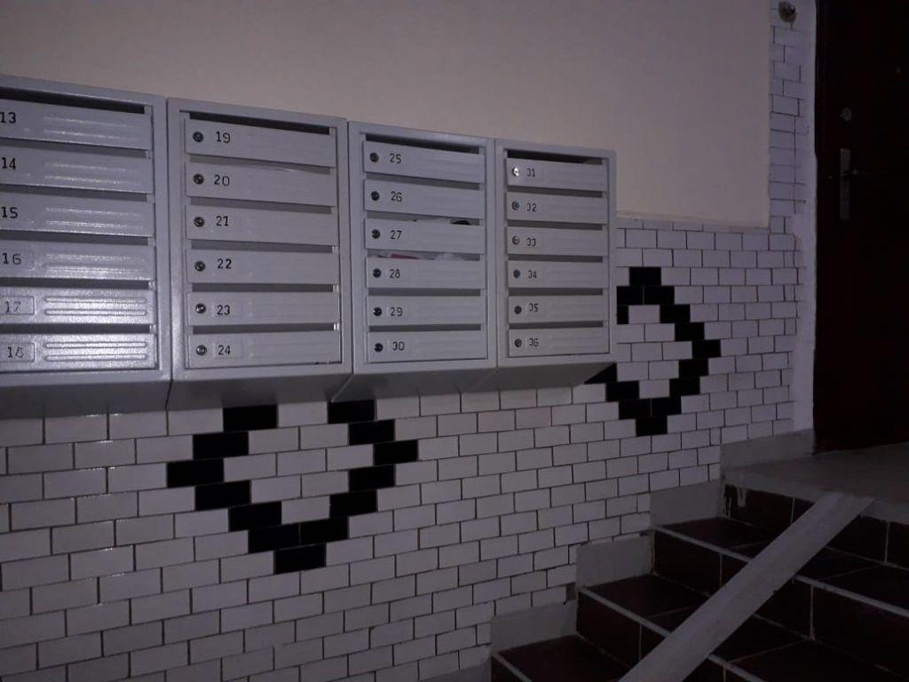 капремонт, Выхино, лестница, почтовые ящики