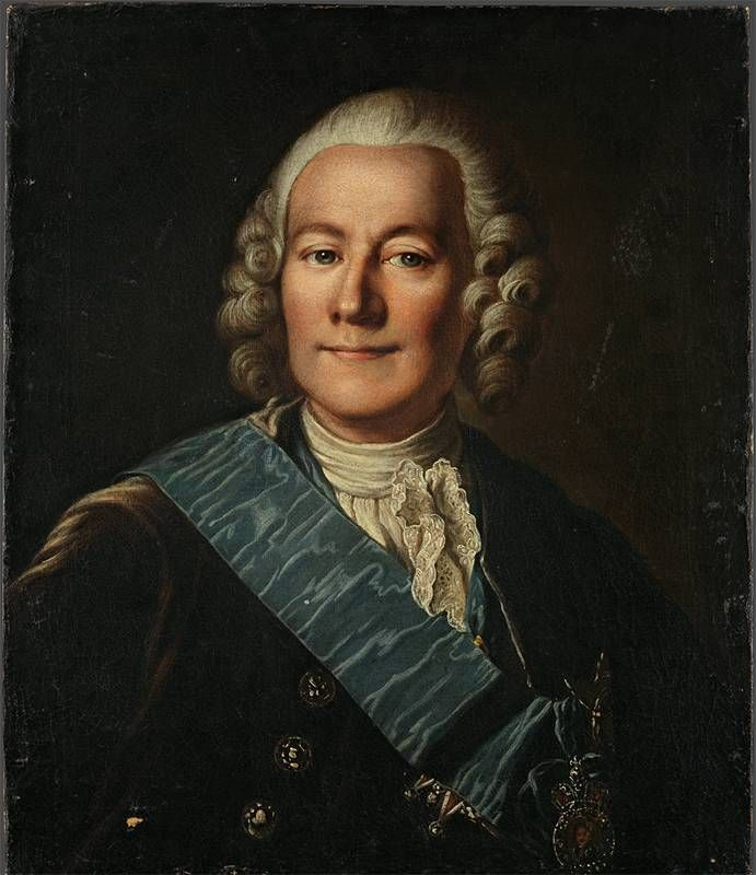 Казатов А. Портрет канцлера графа А.П. Бестужева, 1764 г.