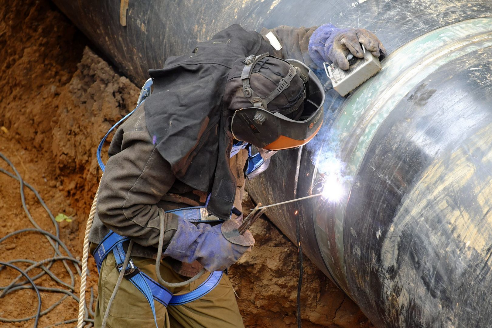газопровод, Мосгаз
