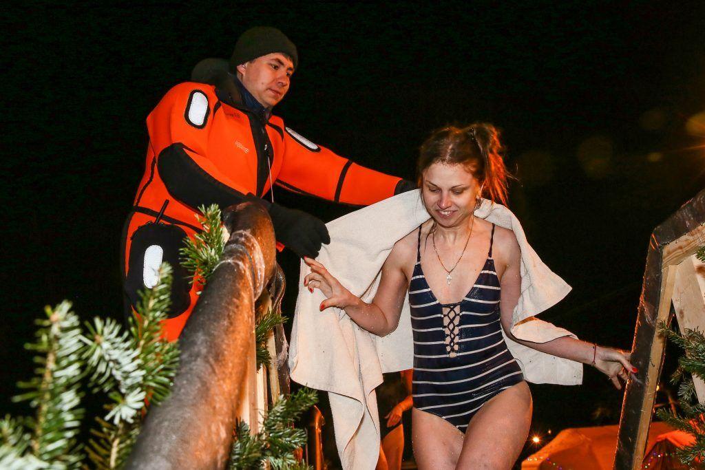 спасатели, крещение
