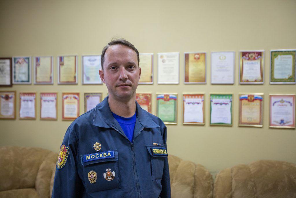 Перминов Алексей Владимирович - начальник Аварийно-спасательного отряда №2