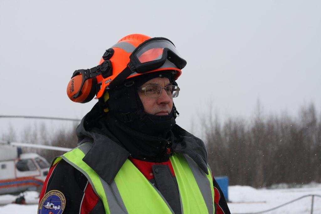 Александр Панормов, начальник спасательный службы Московского авиационного центра