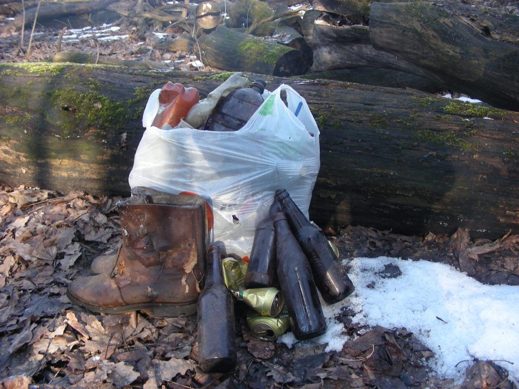мусор, парк, Мосприрода