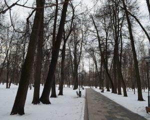 """Вход в парк """"Сад Будущего"""" со стороны станции метро """"Ботанический парк""""."""