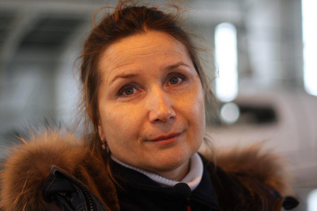 Екатерина Орешникова, пилот вертолета ВК117С-2