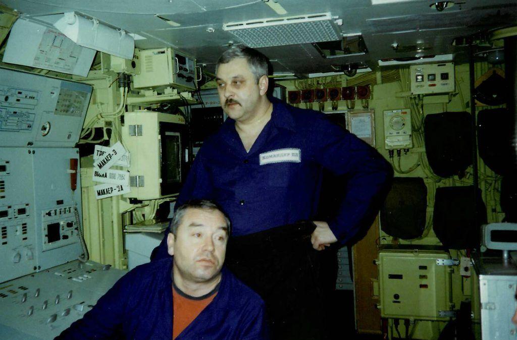 Сергей Николаевич Ежов, подводная лодка
