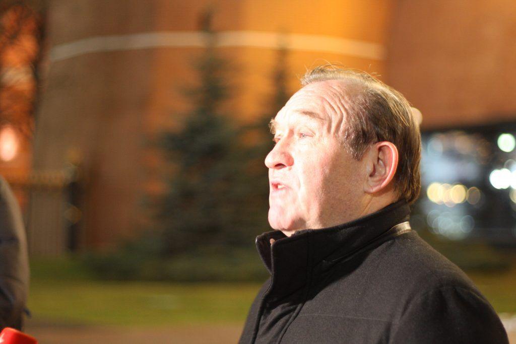 Петр Бирюков, Вечный огонь