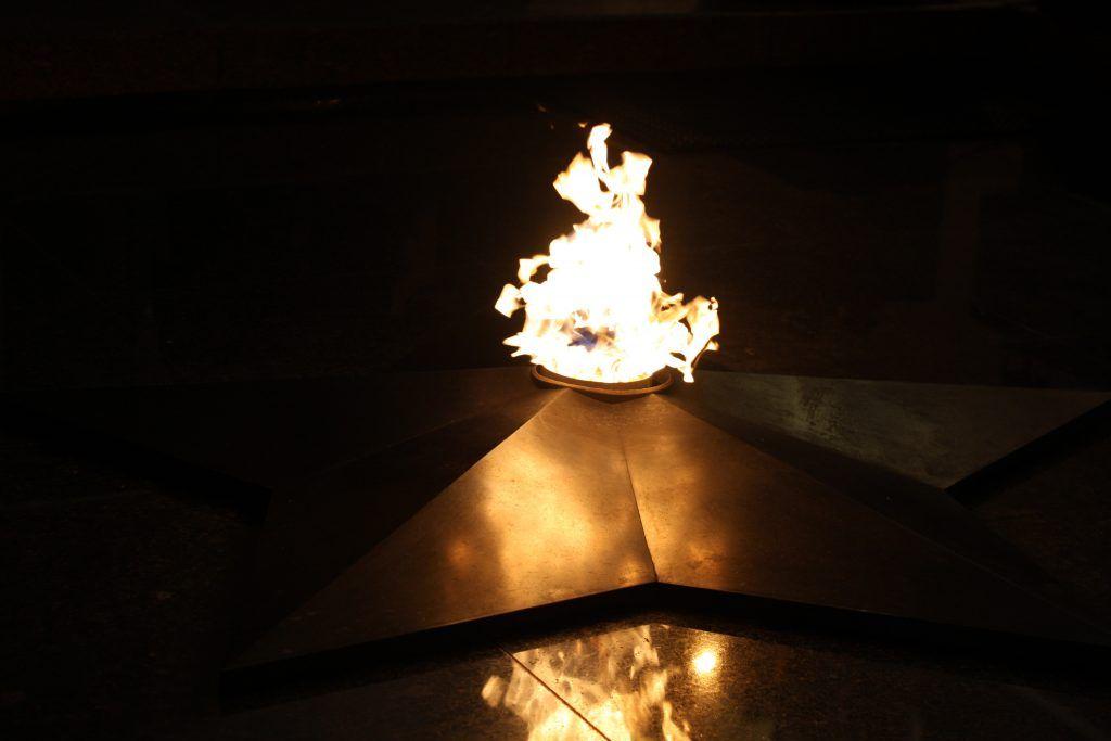 вечный огонь, профилактика, Мосгаз