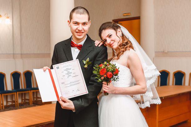 служба 112, День влюбленных, невеста, загс