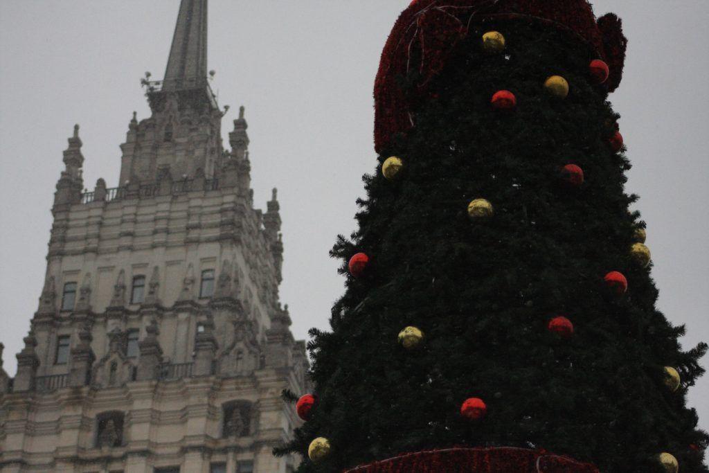 Новый год, елка, демонтаж