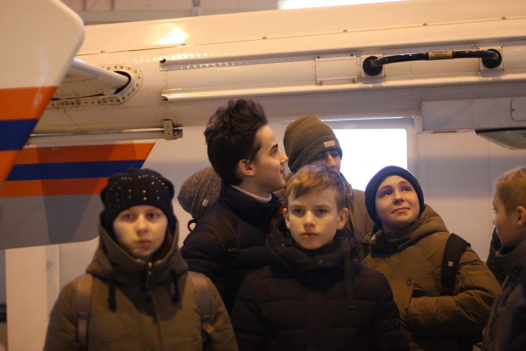 МАЦ, дети, спасатели