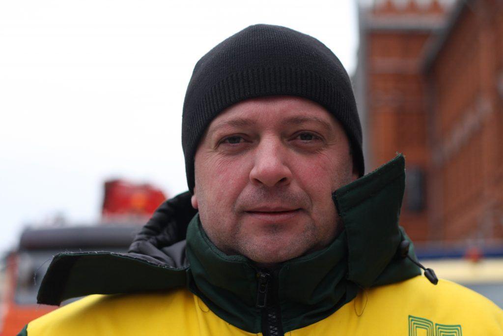 Максим Кондрашов, прораб аварийно-ремонтного управления.