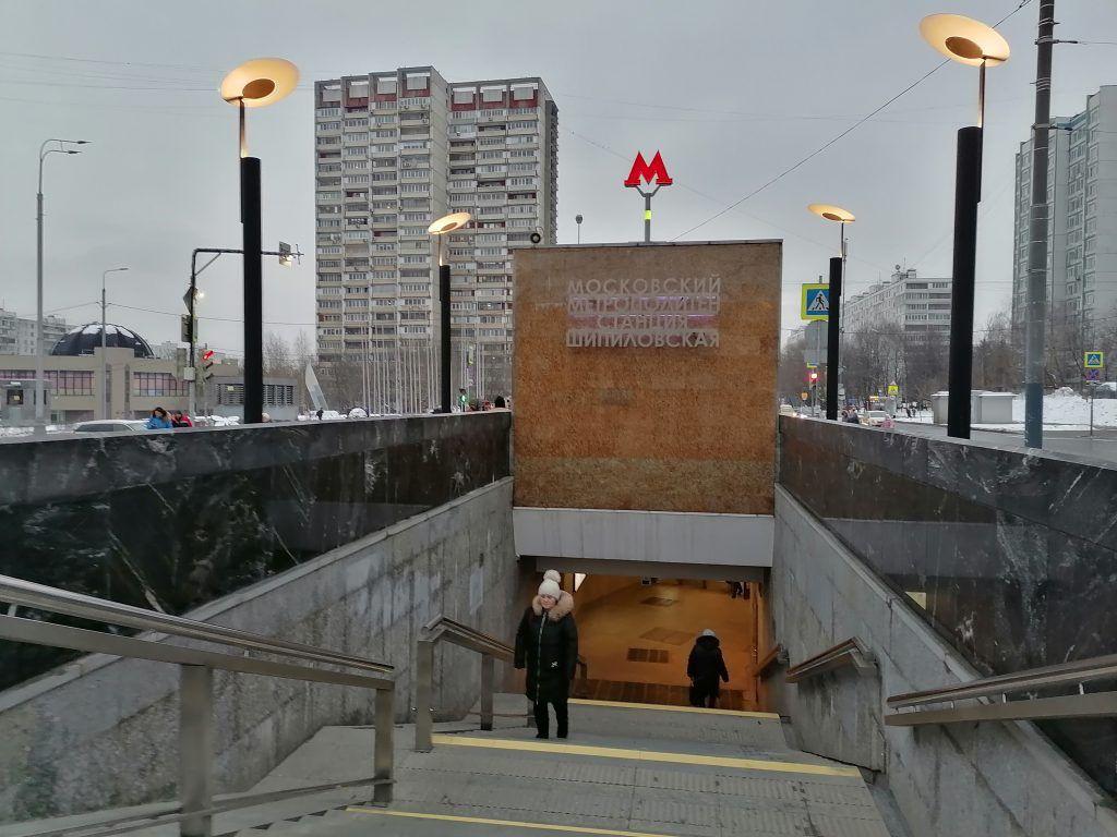 Новая станция метро Шипиловская