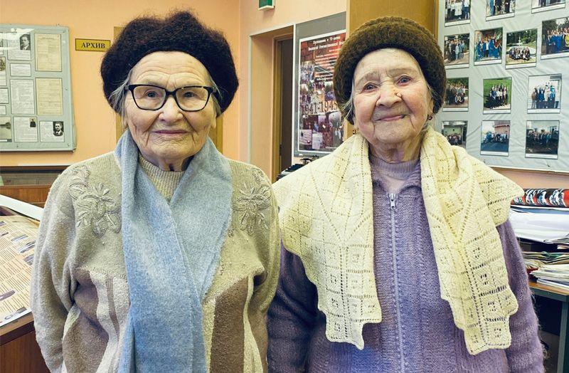 ИраидаСамарина и Галина Сочилова
