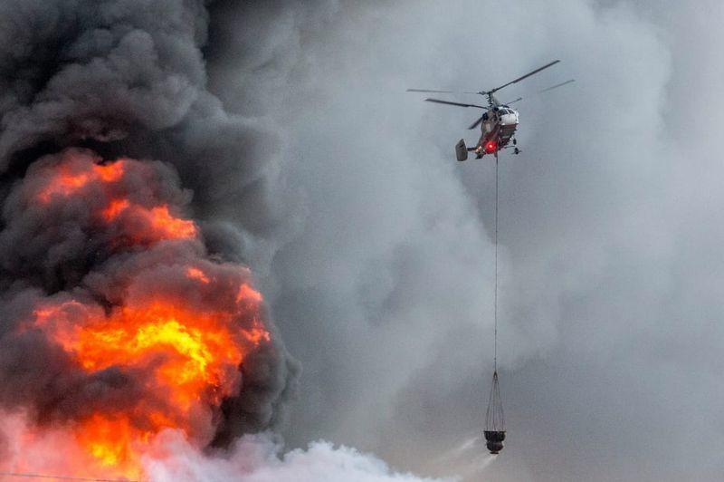 пожар, МАЦ, спасатели
