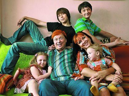 Владимир Воленко и семья