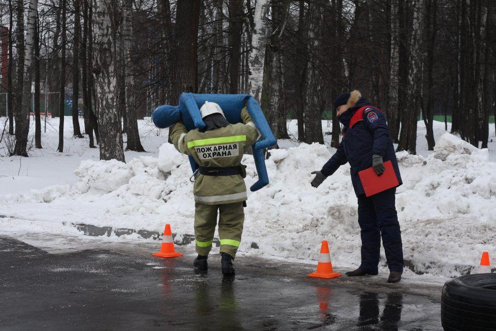 Апаринки, соревнования, пожарные, спасатели