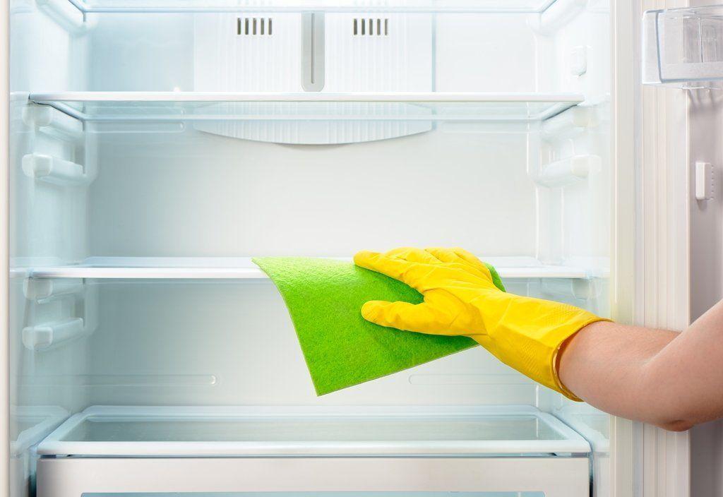 холодильник, соль