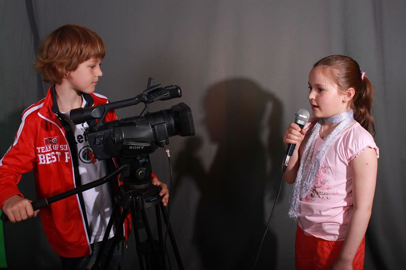 дети и журналисты