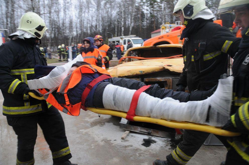 спасатели, пожарные, Апаринки, соревнования