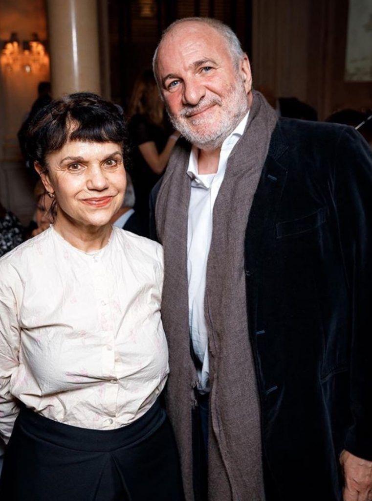 Марина Лошак и Емельян Захаров