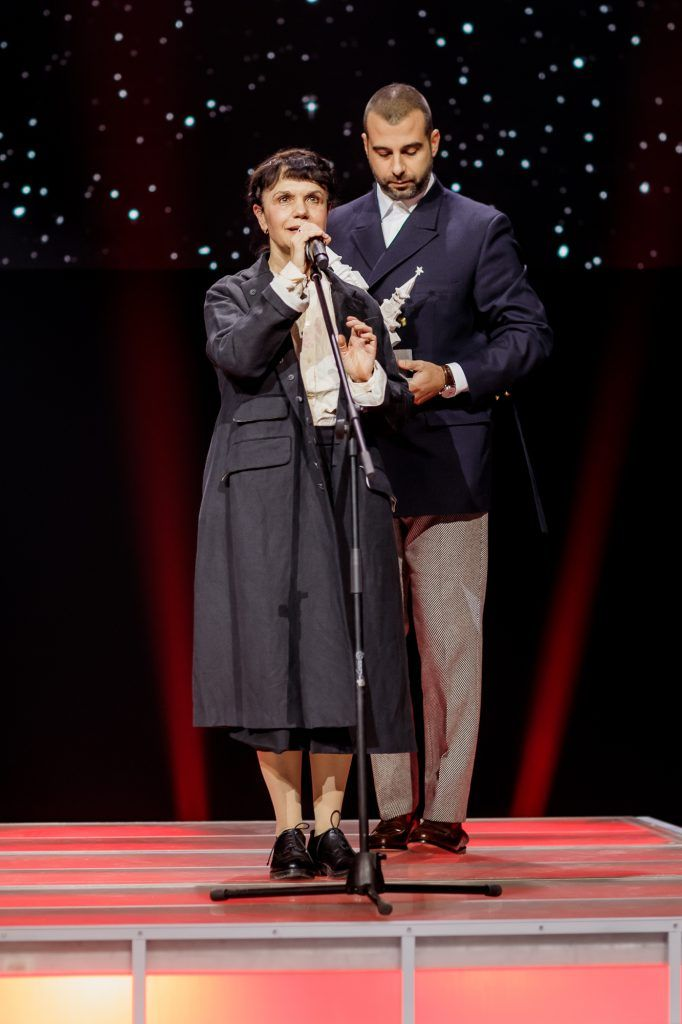 Иван Ургант и Марина Лошак. Фото: artmoscovia.ru