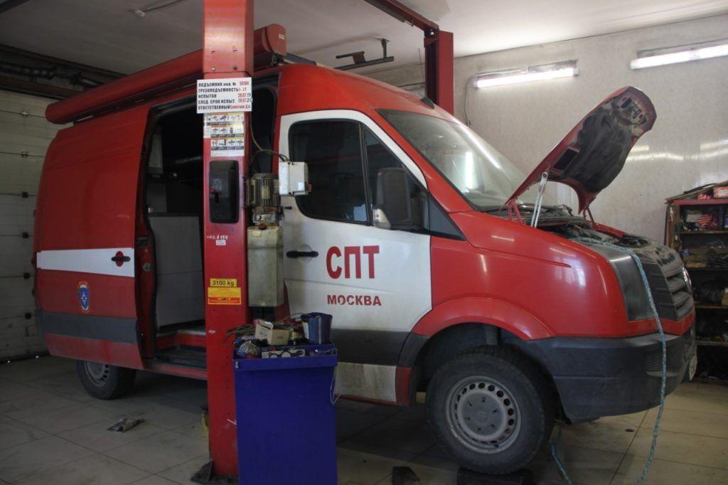 пожарная машина, спецтехника