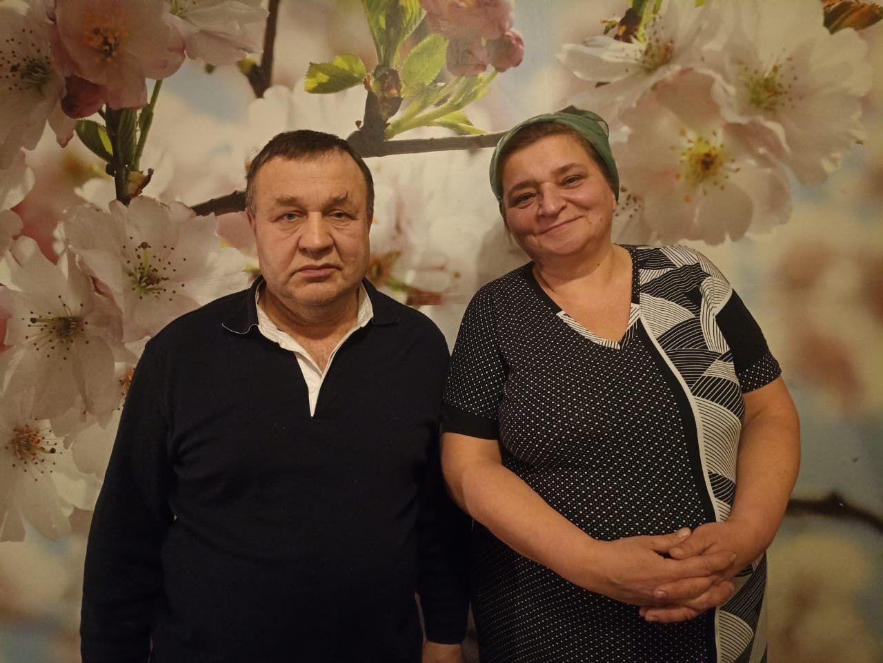 Алексей Плотников с женой