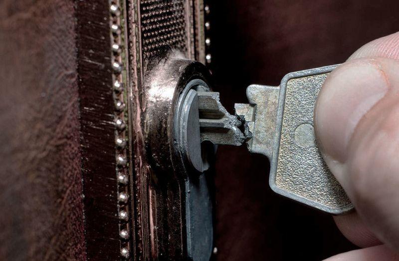 сломан ключ