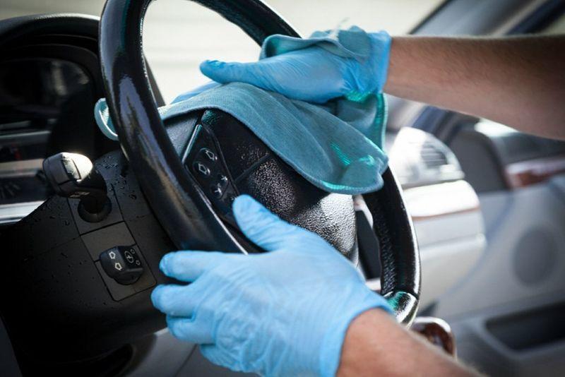 ЦОДД призвал дезинфицировать автомобили