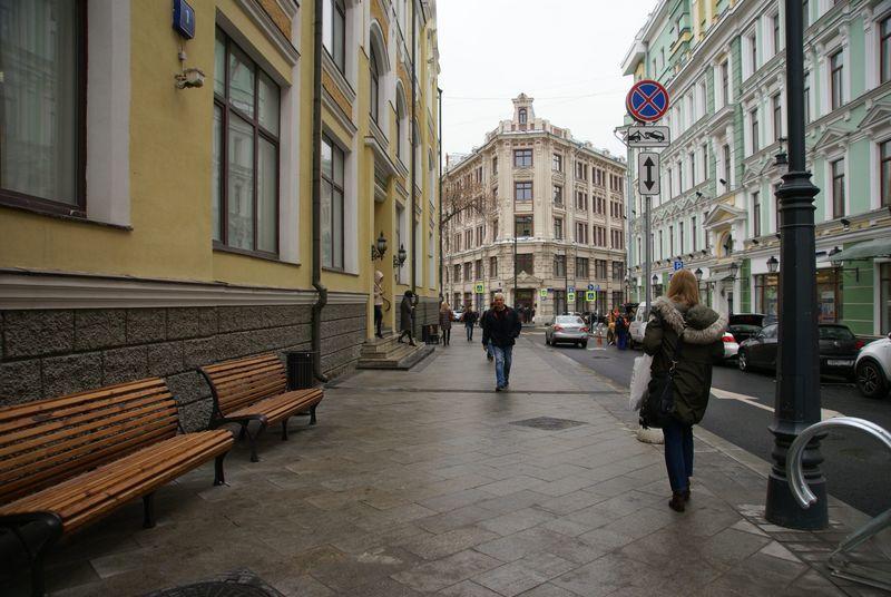 улица, Москва
