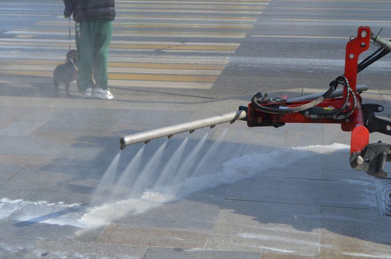 промывка улиц, такса