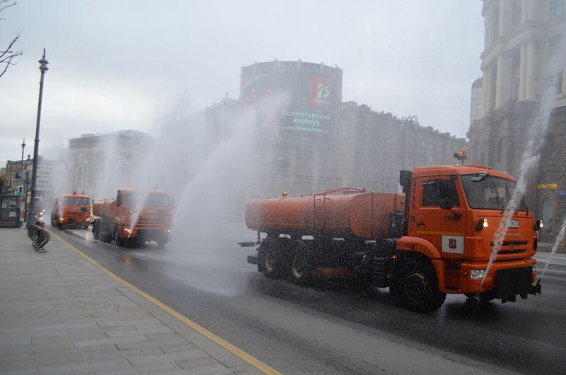 промывка Москвы