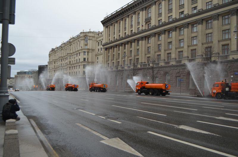 промывка, дезинфекция Москвы