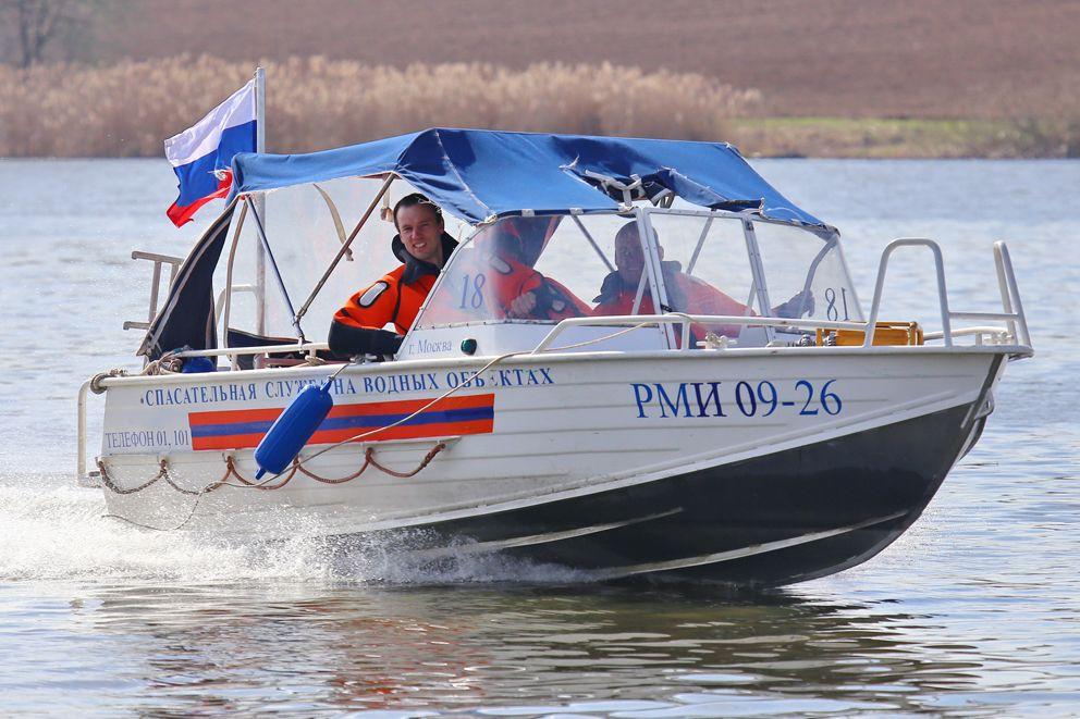 Владимир Ерошин, спасатель