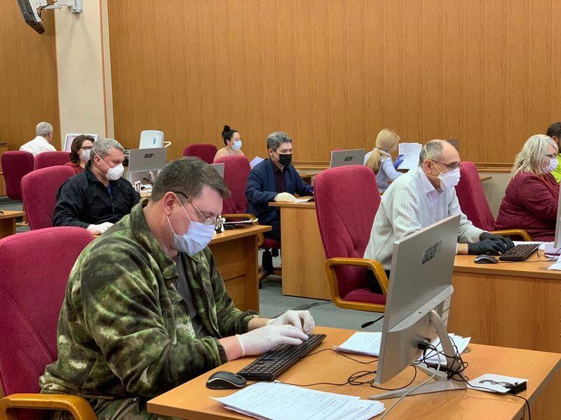 обработка анкет, коронавирус, Департамент гражданской обороны