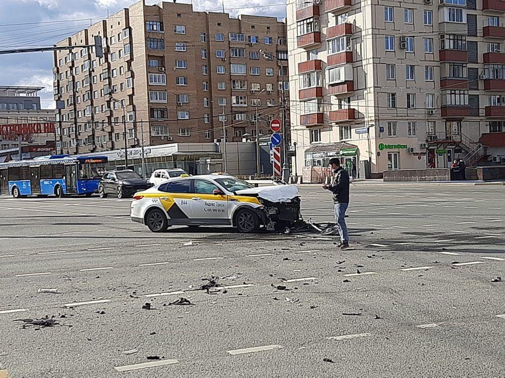 ДТП, происшествия в Москве