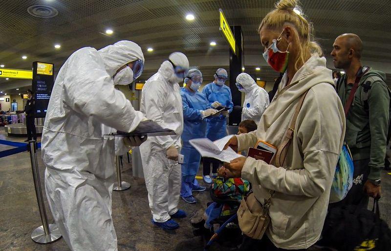 аэропорт, коронавирус