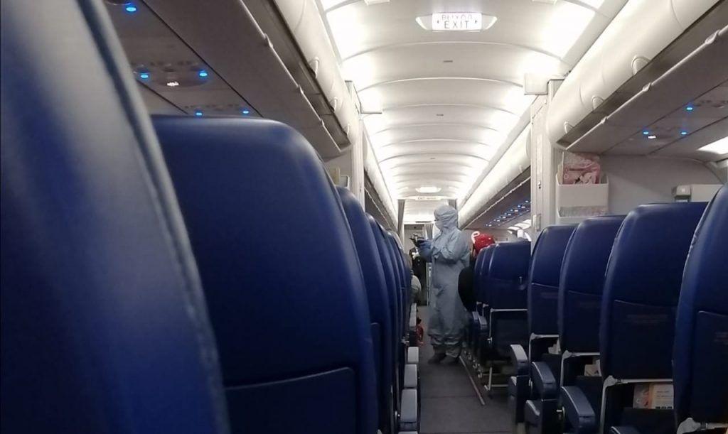 самолет, коронавирус