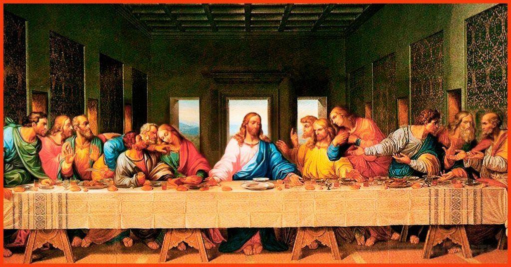 Фреска Леонардо да Винчи «Тайная Вечеря»