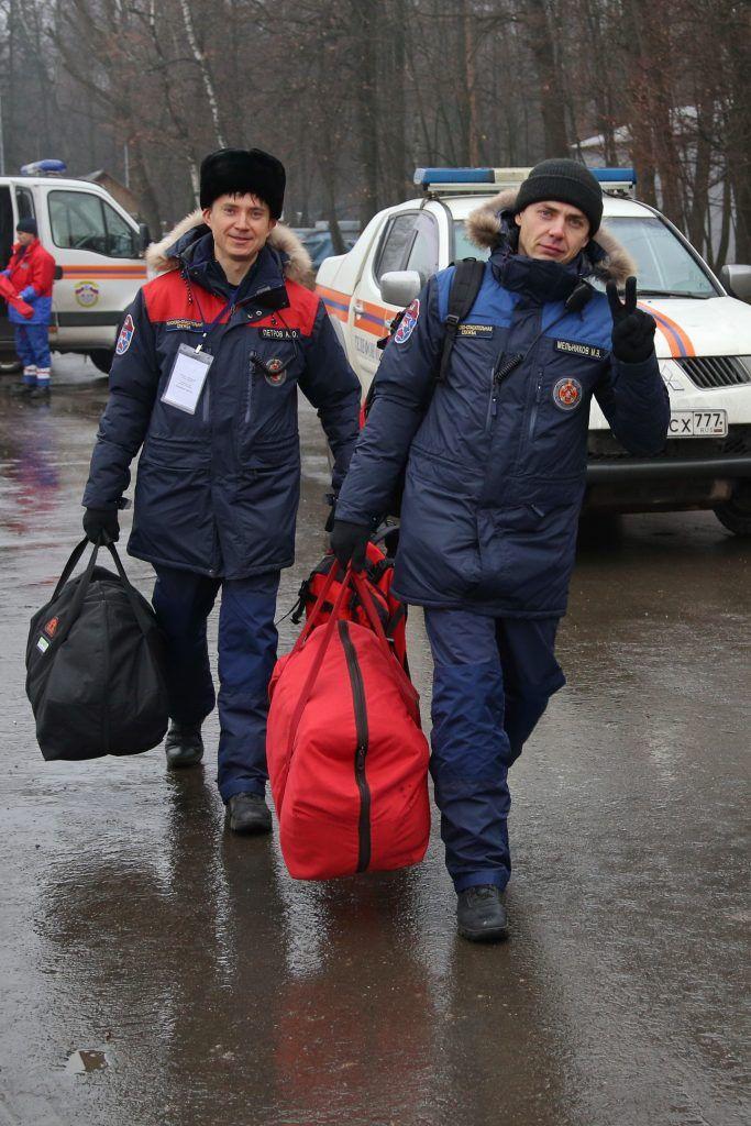 Крымский мост, спасатели