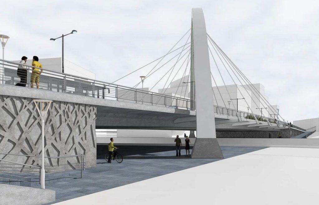 арка, Новый мост, благоустройство