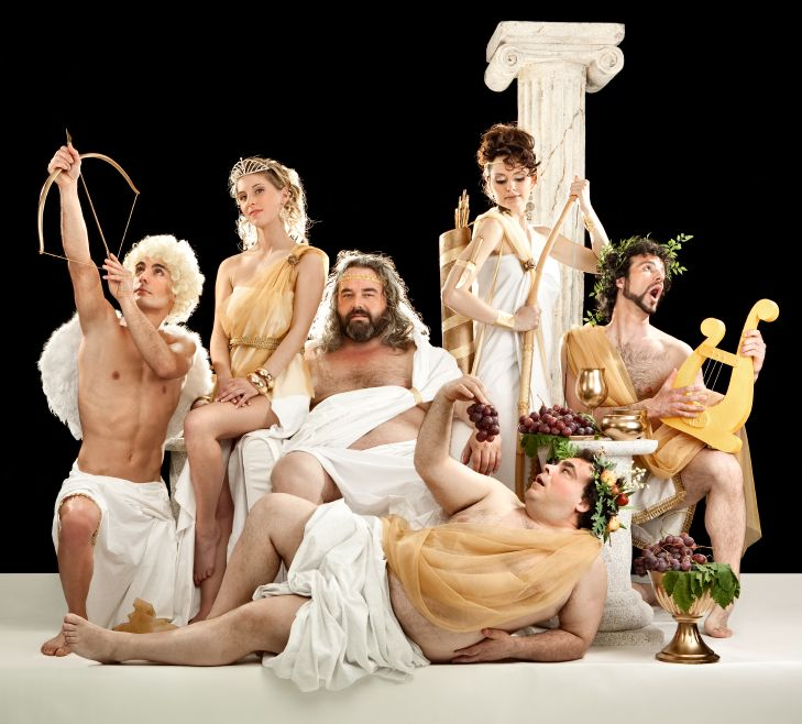 боги, мужчины, олимп