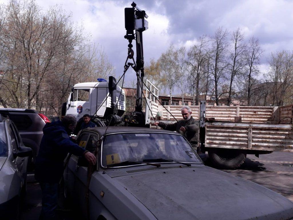 машина Волга, спасатели