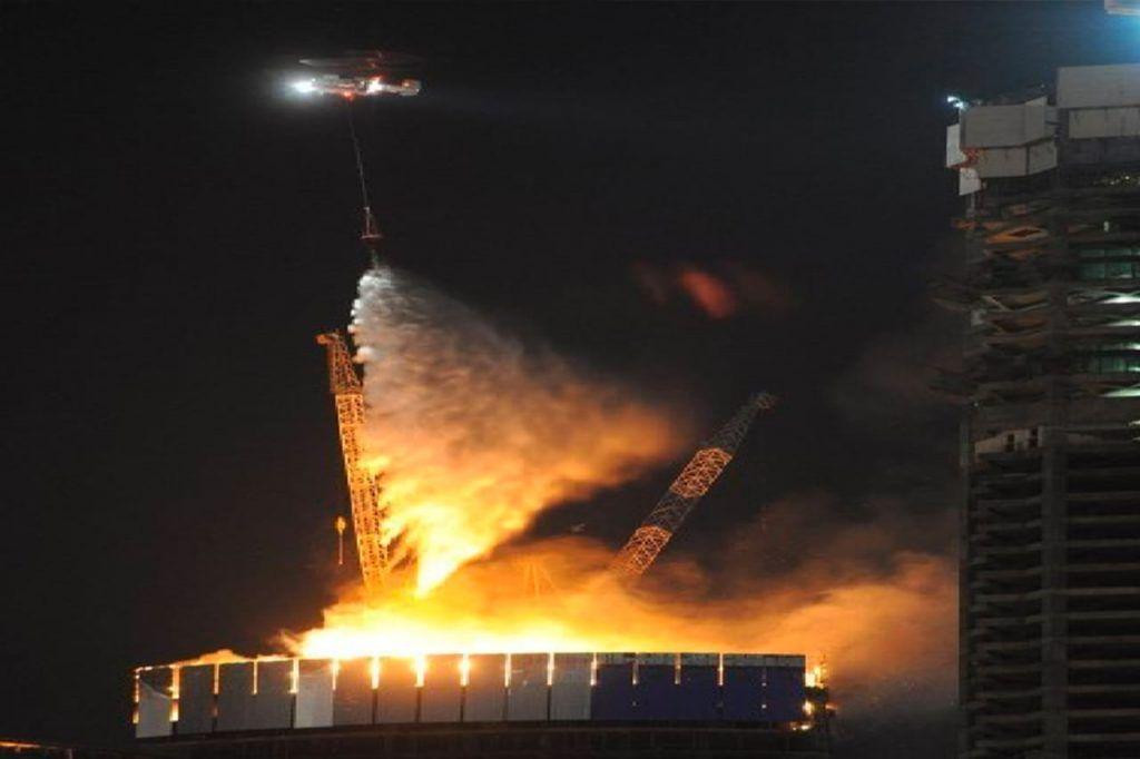 пожарные, пожар, вертолеты МАЦ