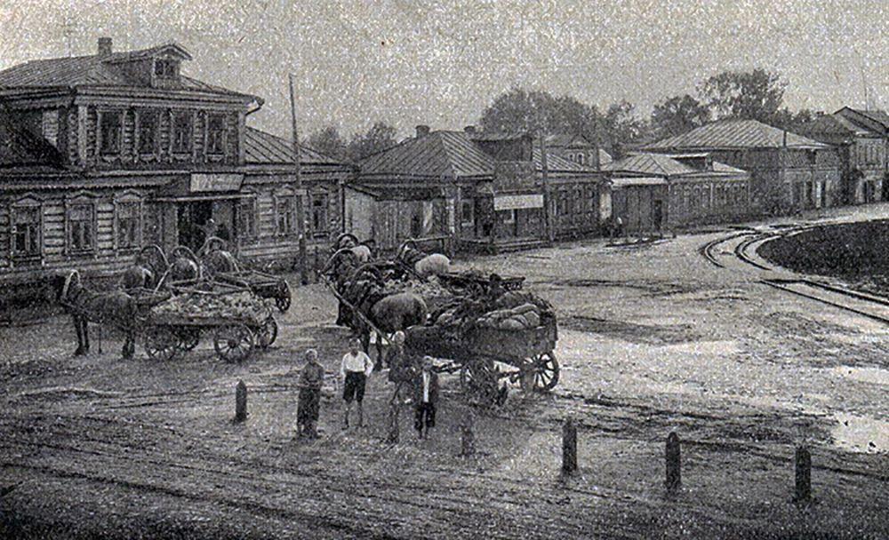 Село Всехсвятское в районе современного Чапаевского переулка, 1926. Фото: https://zen.yandex.uz