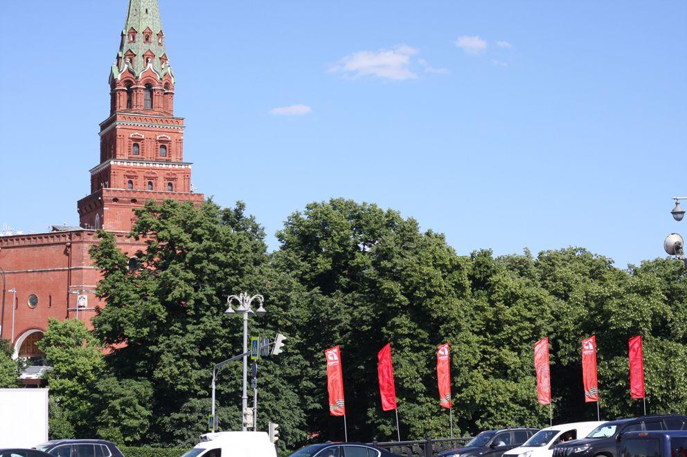 украшение Москвы, 75 лет Победы, парад Победы