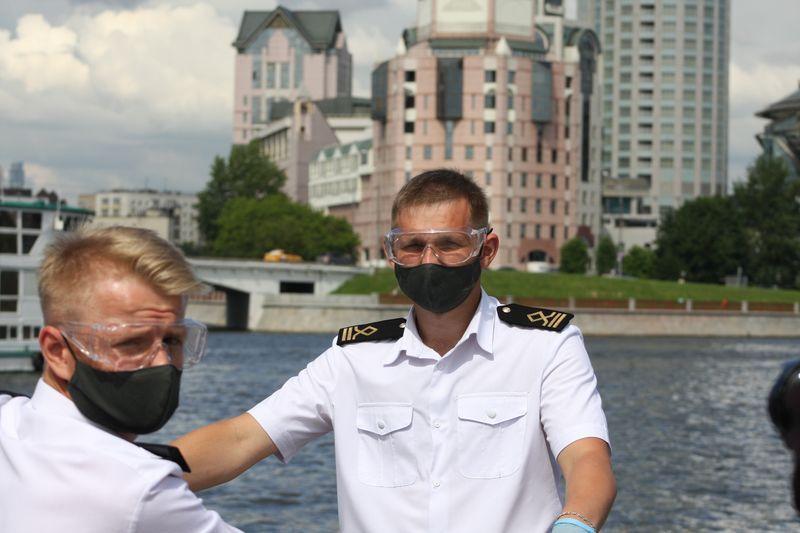 пассажирский флот, Москва-река, прогулки по Москве, навигация, ГБУ Гормост