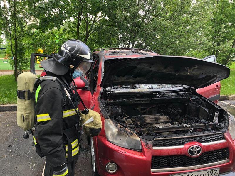 происшествия в Москве, пожарные