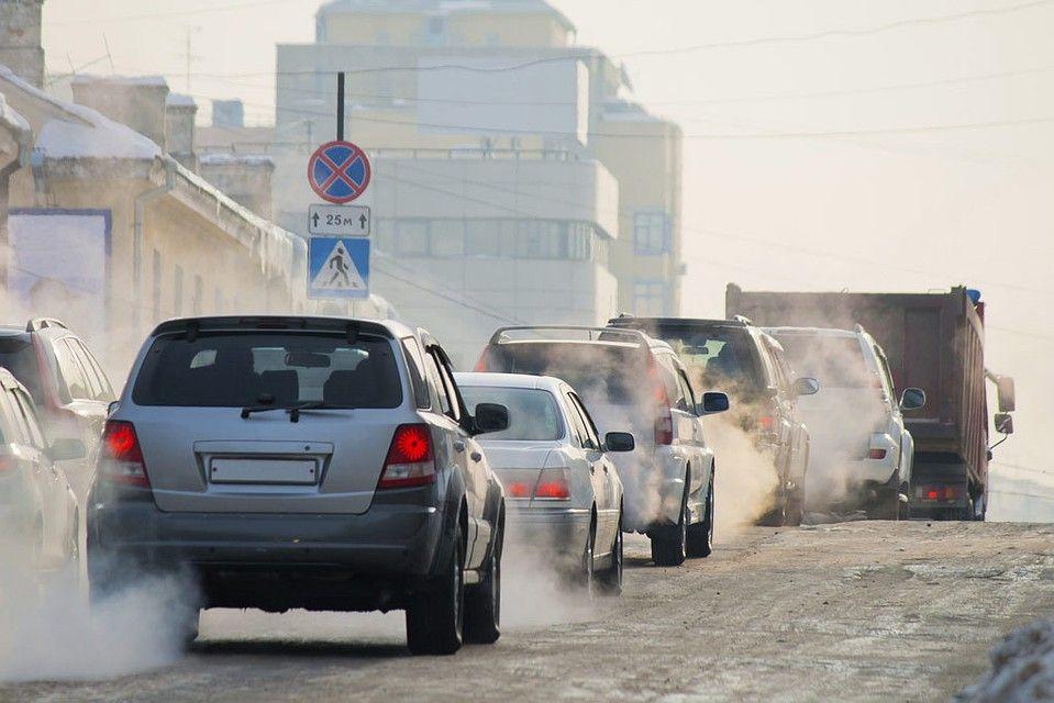 автомобиль, загрязнение воздуха